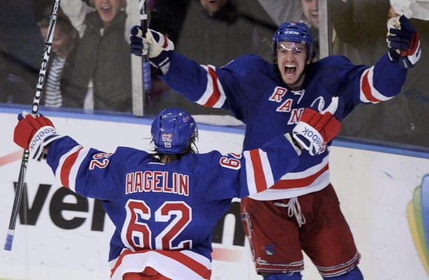 Hagelin won't be goal-less for long.