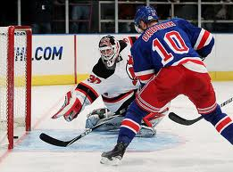 Gaborik goes to the net, something that's he does more and more as a Ranger