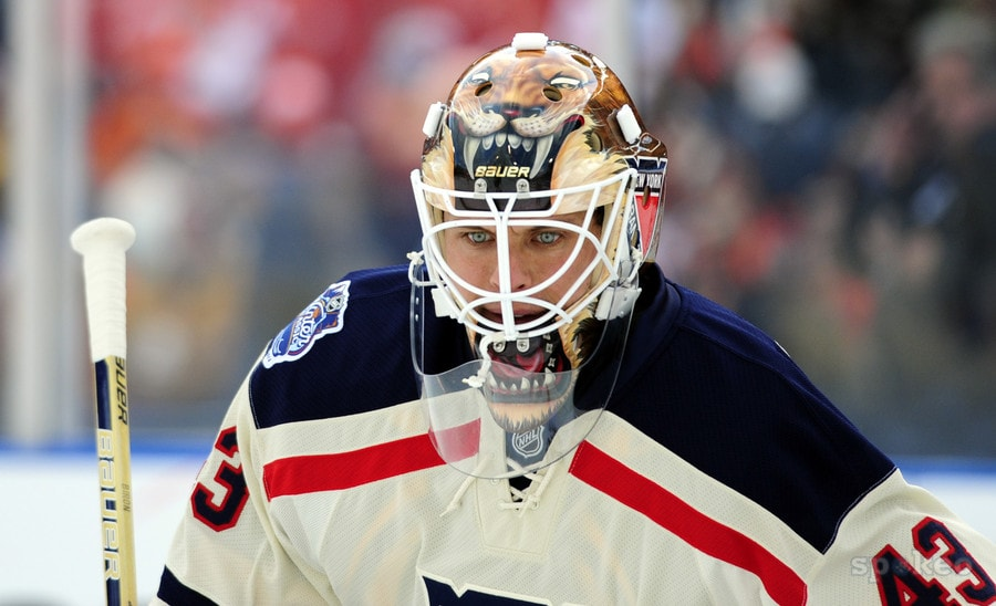 Martin Biron will play a critical role this year.