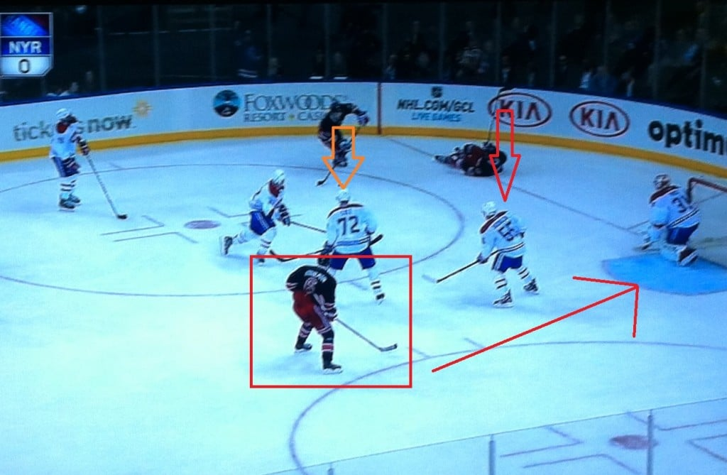 Head on a swivel, the Habs did not.
