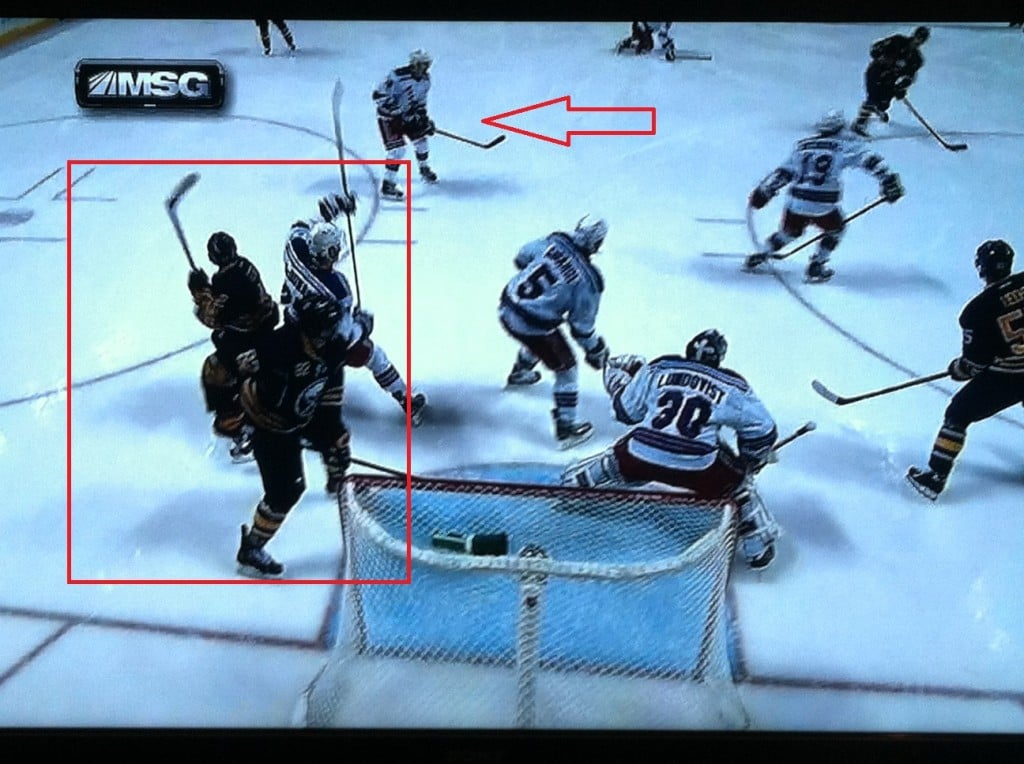 McDonagh is good, but he can't cover two guys down low.