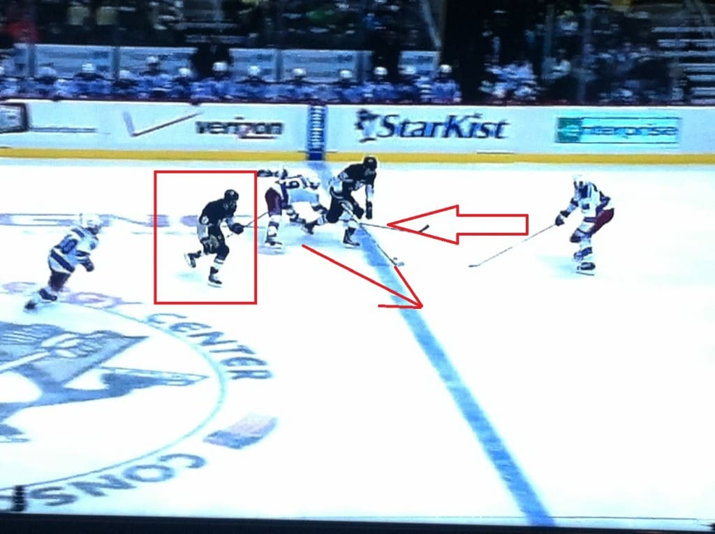 Single arrow is where Richards should go.