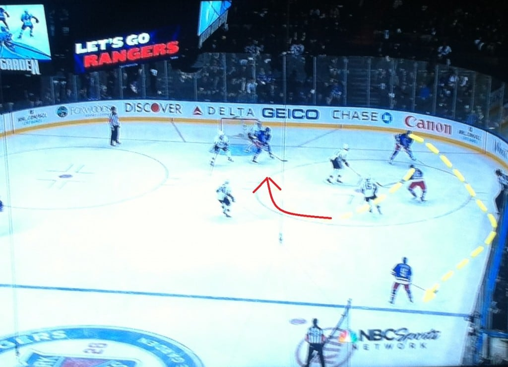Great powerplay cycles and guys in front.