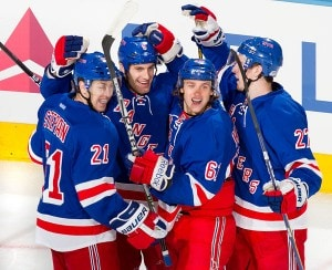 Did the Rangers forwards play up to their ability?