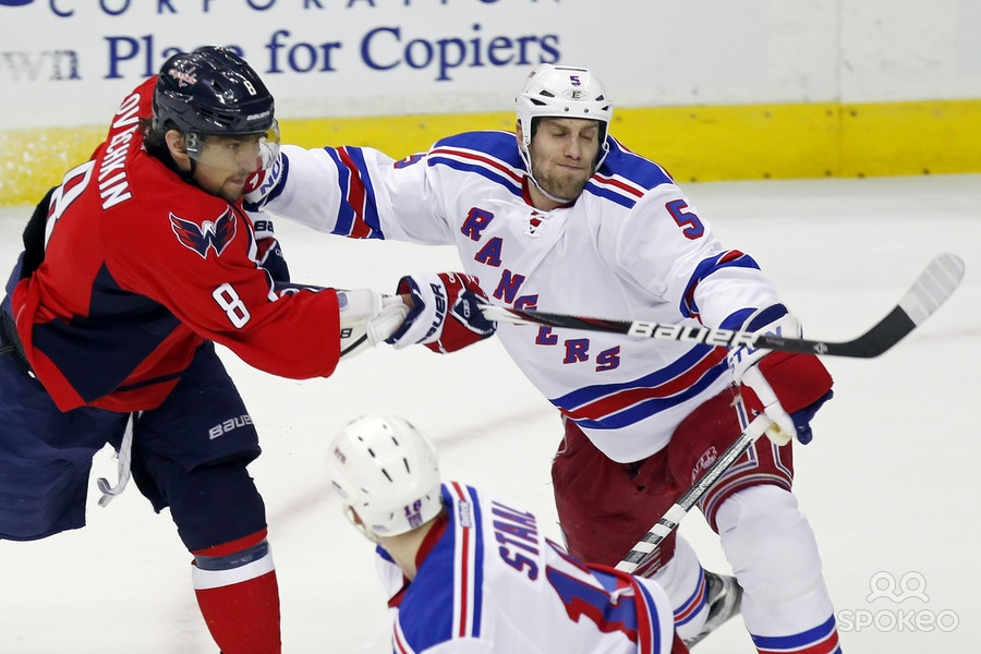 Girardi staying helps the Rangers look elsewhere long term. Photo Credit: US Presswire