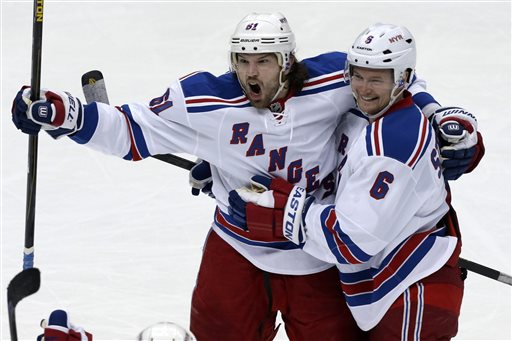 Rick Nash is facing a huge amount of pressure. Starting Thursday