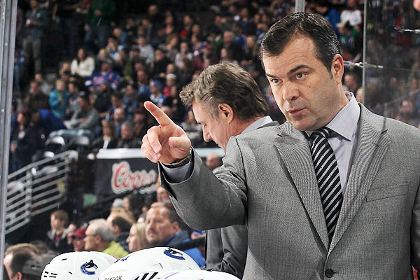 Vigneault will be looking long term, not just trying to cope in October