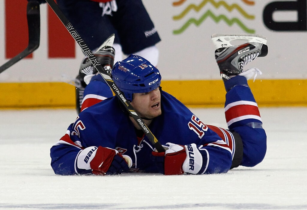 Derek Dorsett, penalty killing machine (Image Credit: Getty Images)