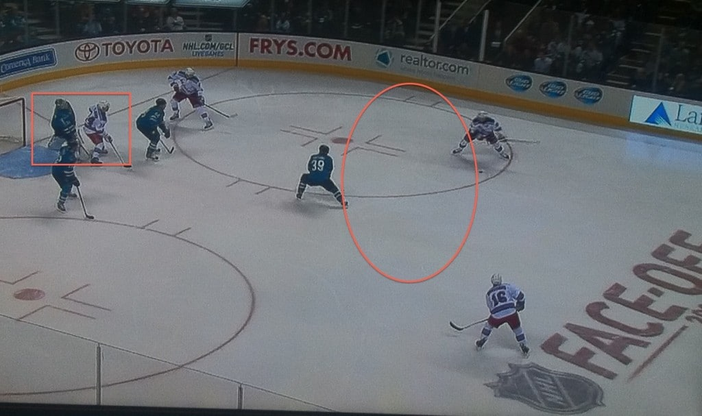 That's a lot of empty space for Richards to work with.
