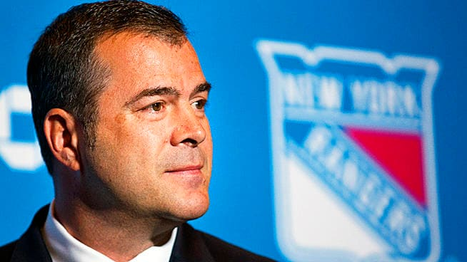 The Rangers need their coach to coach, not to moan about talent Photo: AP