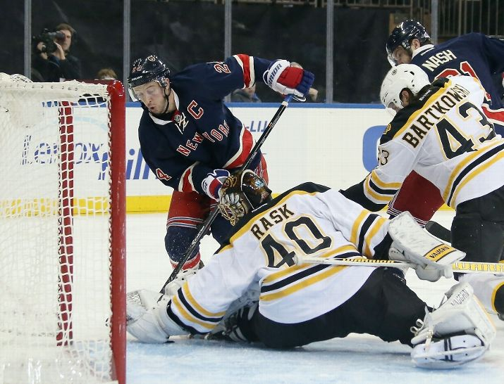 """""""Save by Rask"""" heard way too much (Photo by Bruce Bennett/Getty Images)"""
