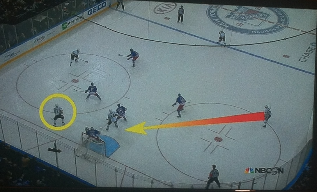 Thanks, NBCSN, for drawing arrows for me.