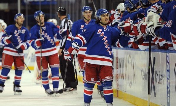 Zuccarello: one of the more consistent Rangers this season