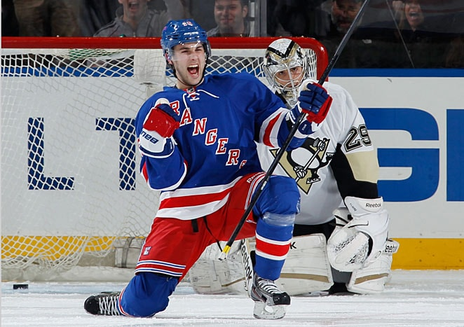 Derick Brassard, clutch playoff performer and crucial tonight.