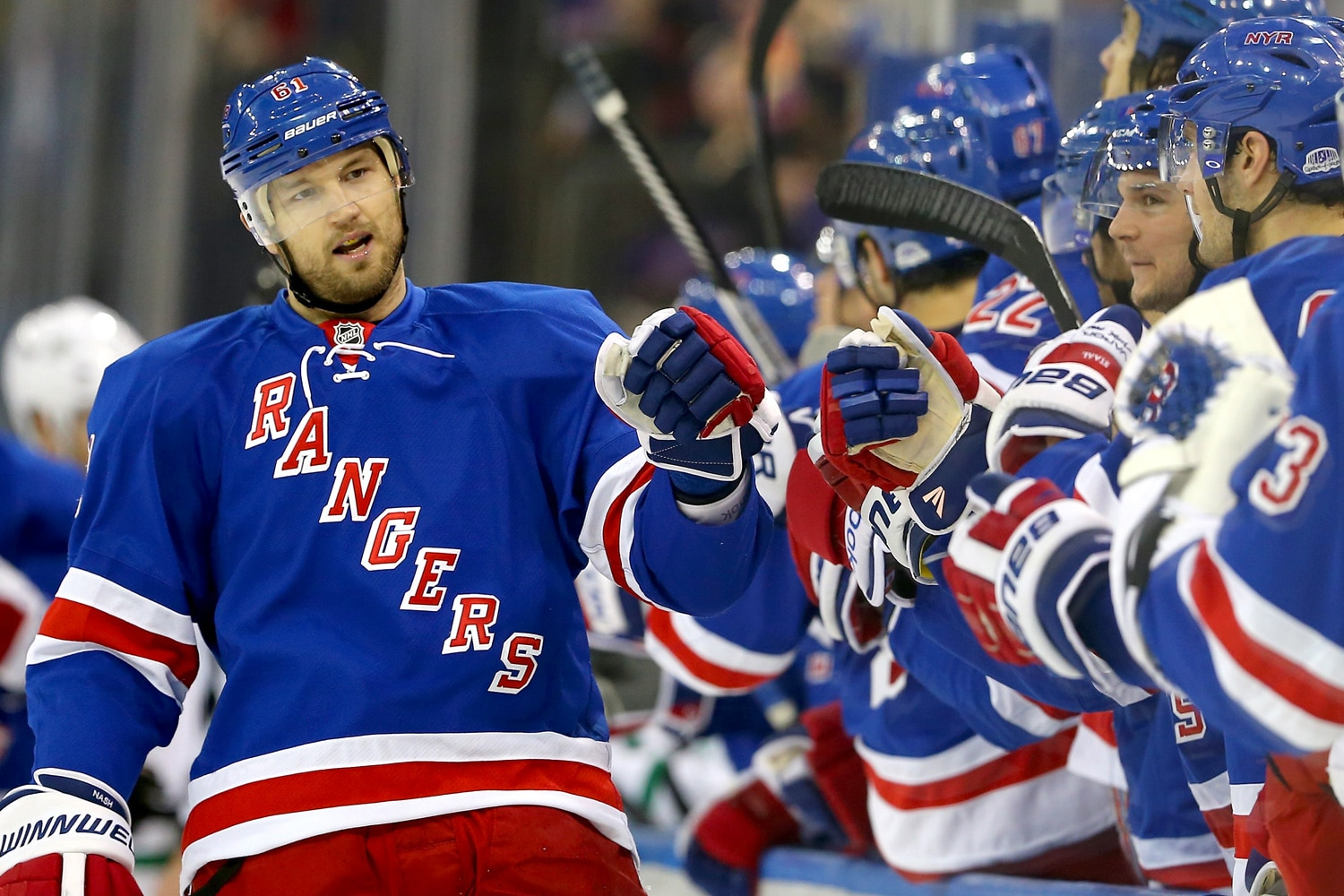 Nash is integral to the Rangers hopes for 2015