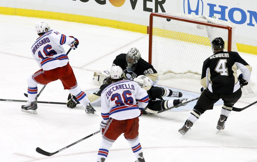 Brassard needs to be more consistent if he's to be a long term Ranger Photo: Charles LeClaire-USA TODAY Sports