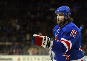 The Rangers need Rick Nash to find his feet.