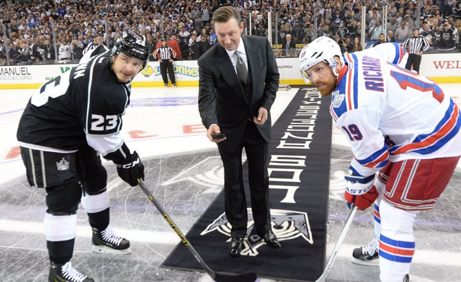 This was a really cool moment. (Photo: NHL.com)
