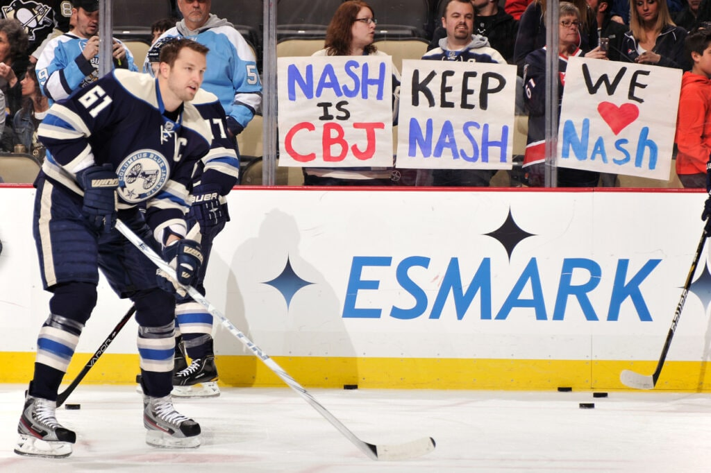 Spoiler alert: Nash leaves Columbus