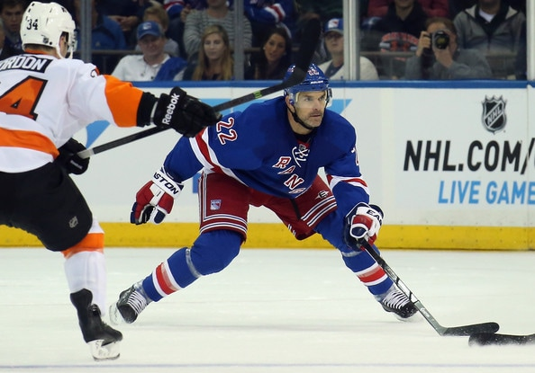 Should the Rangers play Boyle tonight? Bruce Bennett/Getty Images North America