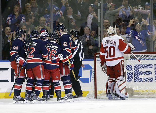 rangers red wings