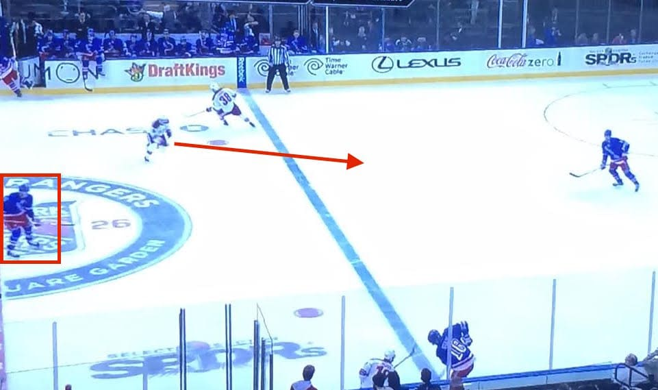 Not much Klein or Talbot could do here.