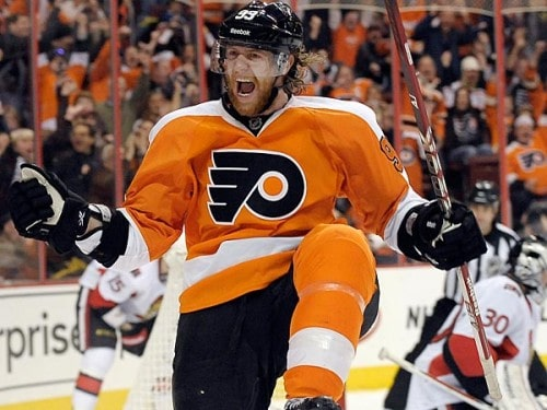 Jakub Voracek inked an eight-year, $66 million extension this offseason