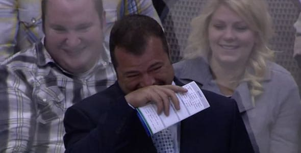 Vigneault loves messing with everyone at this time of the year.
