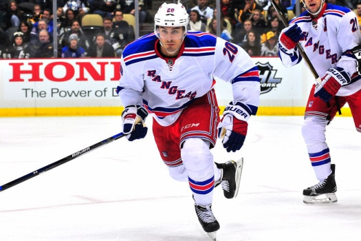 Chris Kreider has five goals in his last nine games