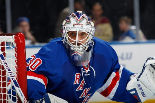 Henrik Lundqvist is capable of putting the team on his shoulders in the playoffs