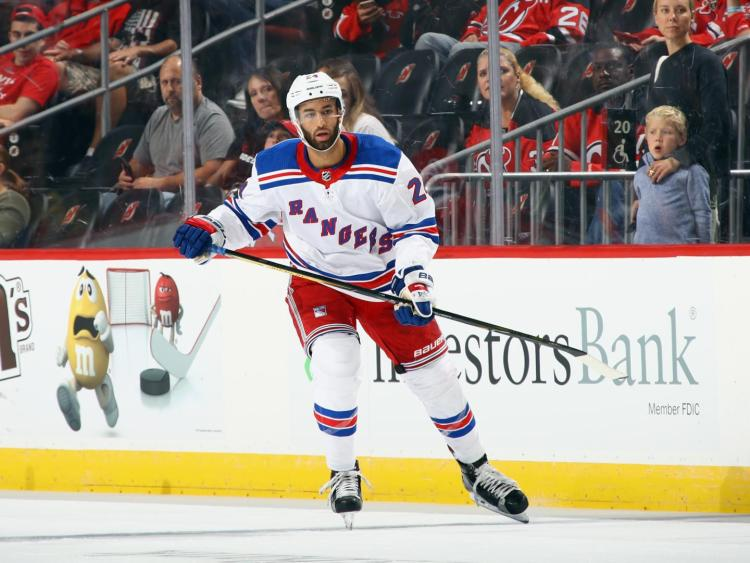 Rangers assign Boo Nieves to Hartford