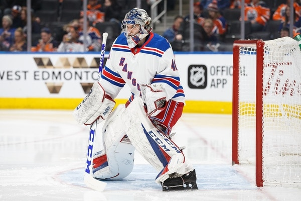 Photo of Rangers recall Marek Mazanec, send Alex Georgiev to Hartford