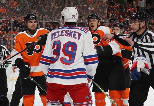 Rangers waive Matt Beleskey