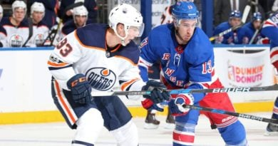 Rangers can't solve Talbot, fall to Edmonton