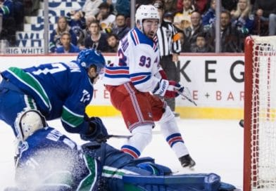Two kids that can't buy beer in this country provide the offense in Rangers win over Vancouver