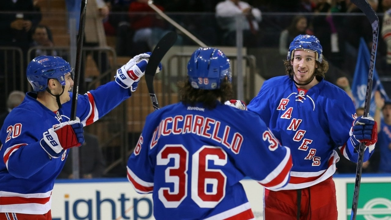 31c283282 Brooks  Rangers now engaging in contract talks with Zuccarello ...