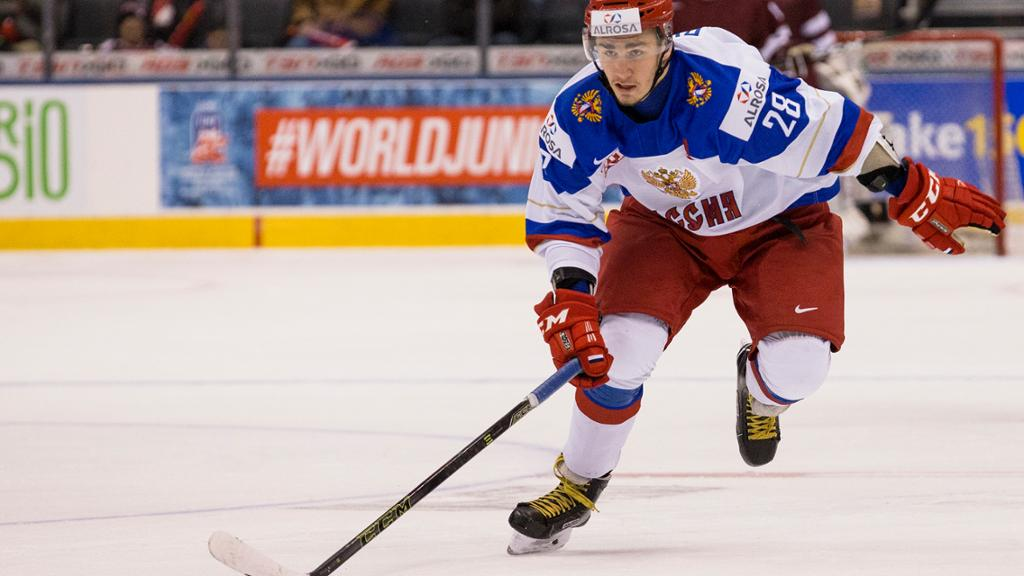 Photo of Rangers take Yegor Rykov off IR; send him to Hartford Wolf Pack