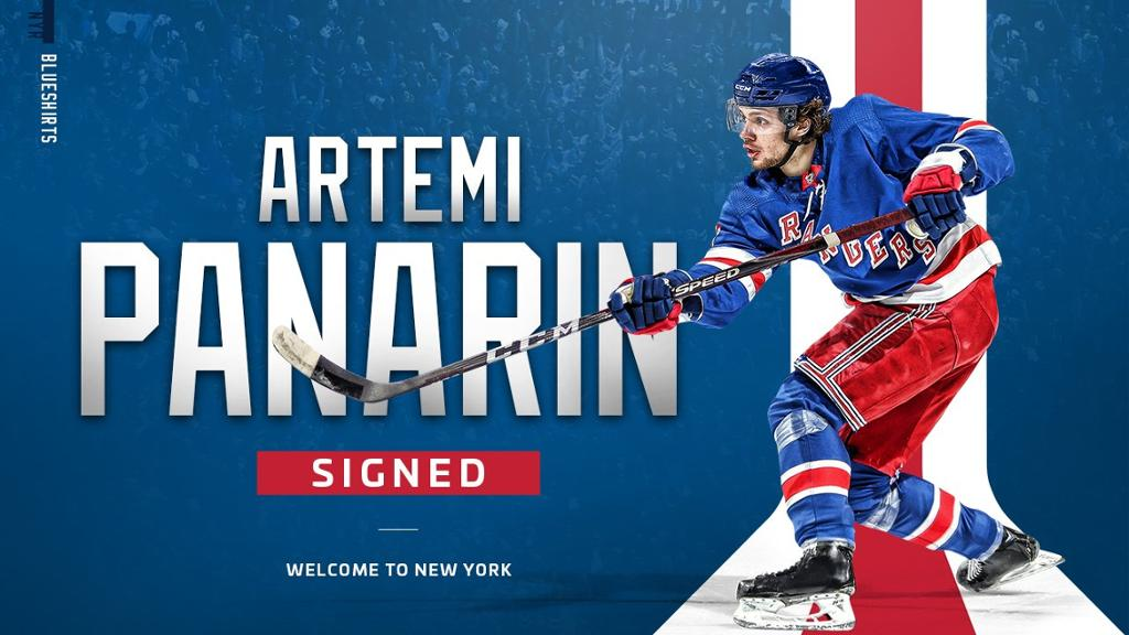 Photo of Thoughts following Artemi Panarin's signing