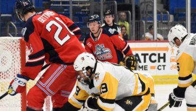 Photo of SWB Penguins snap Hartford's 12 game home win streak