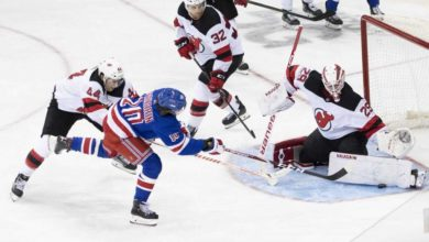 Photo of Rangers fall for the trap game, lost critical game to Devils
