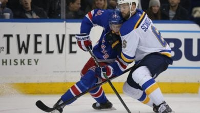 Photo of Rangers dominate, but can't solve Binnington in crushing regulation loss