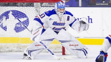 Photo of Rangers sign goalie Tyler Wall to entry level contract