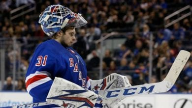 Photo of Fallout from Henrik Lundqvist buyout gives Rangers more time to evaluate young goalies