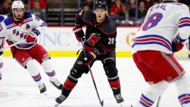 Photo of Rangers swept by Hurricanes, and the 2019-20 season finally ends