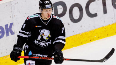 Photo of Around the Farm: Vitali Kravtsov notches lone goal for Traktor in loss