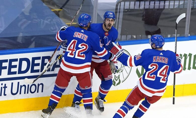 brendan smith chris kreider kaapo kakko